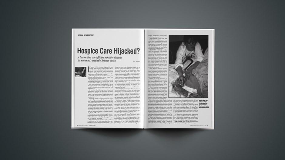 Hospice Care Hijacked?