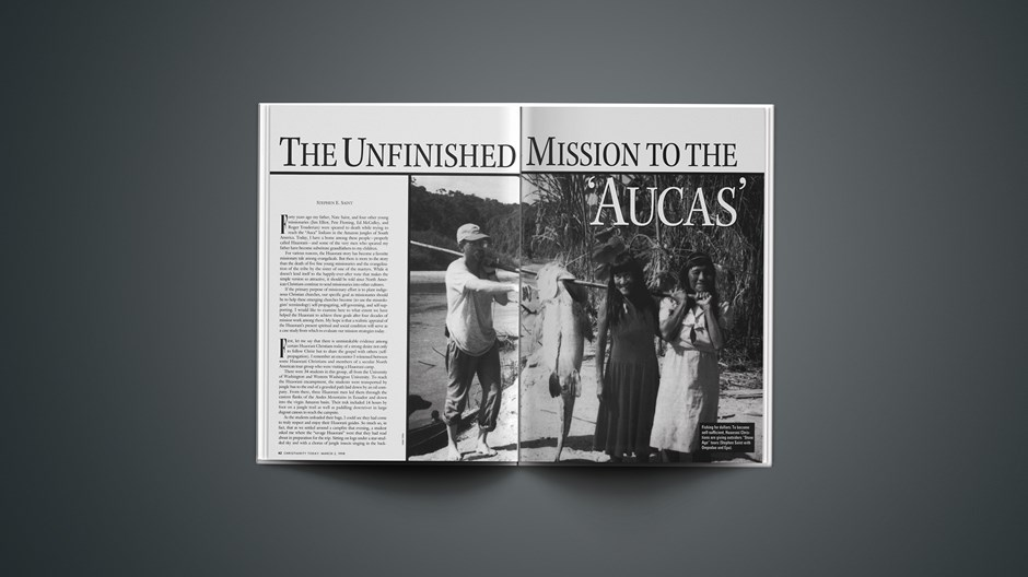 The Unfinished Mission to the 'Aucas'