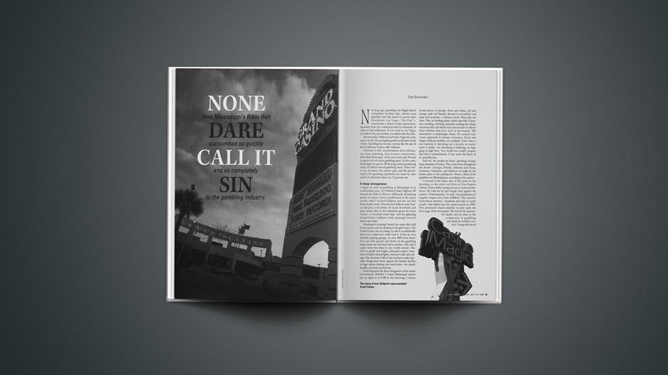 None Dare Call It Sin, plus America's Gambling Habit