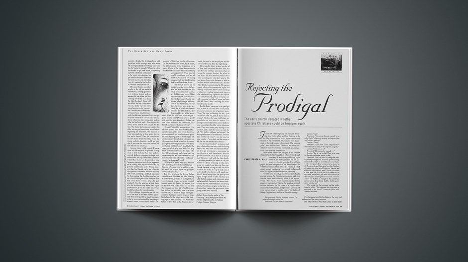 Rejecting the Prodigal