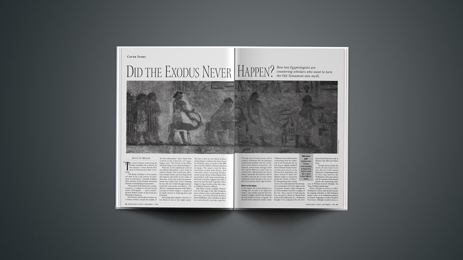 Did the Exodus Never Happen?