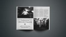 The Return of the Jewish Church