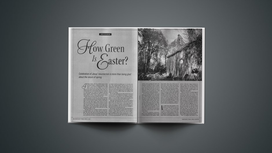 How Green Is Easter?