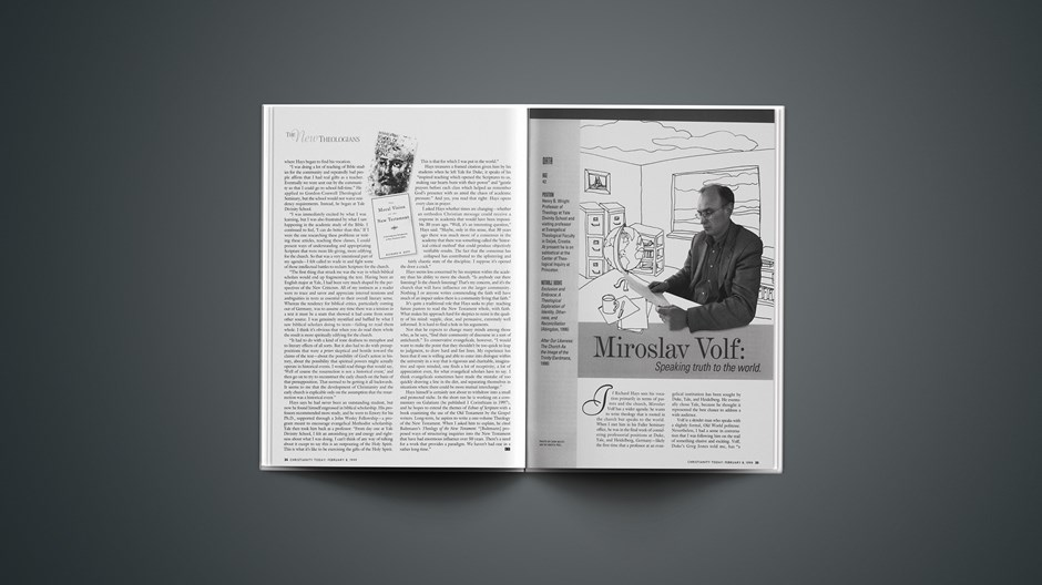 Miroslav Volf: Speaking truth to the world.