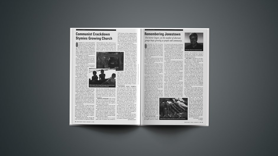 Jonestown: Twenty Years Later, Cults Still Lethal