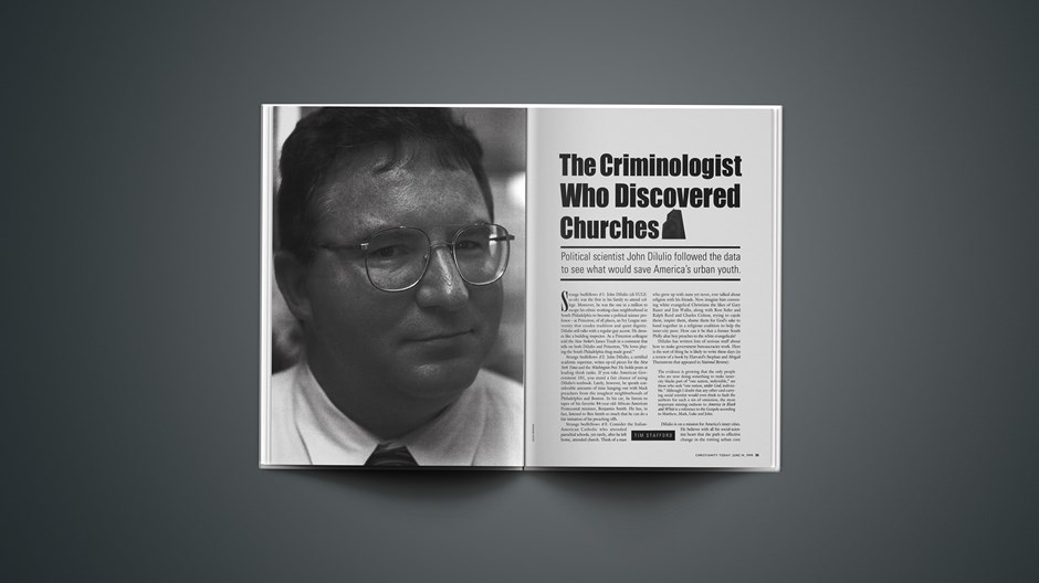 The Criminologist Who Discovered Churches
