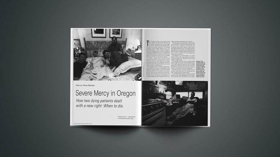 Severe Mercy in Oregon