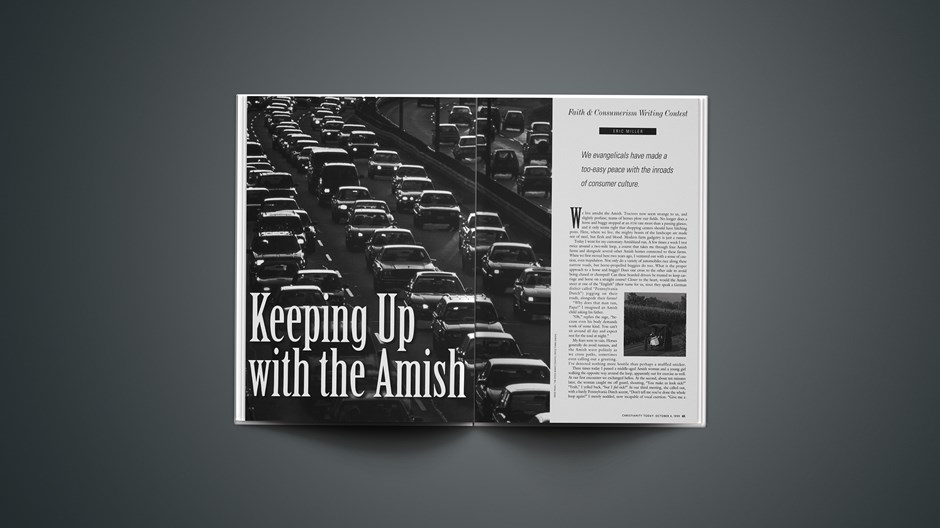 Keeping Up with the Amish