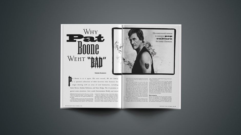 Why Pat Boone Went 'Bad'