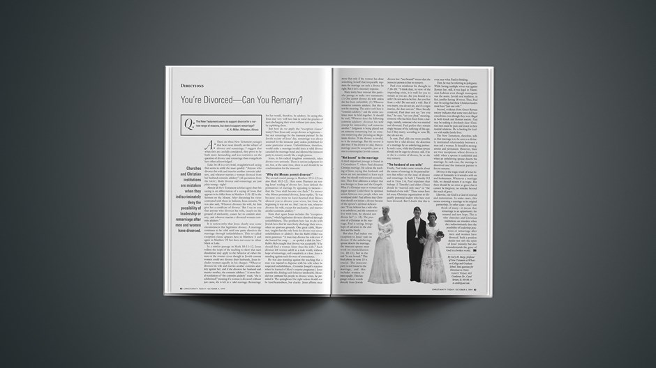 You're Divorced—Can You Remarry?