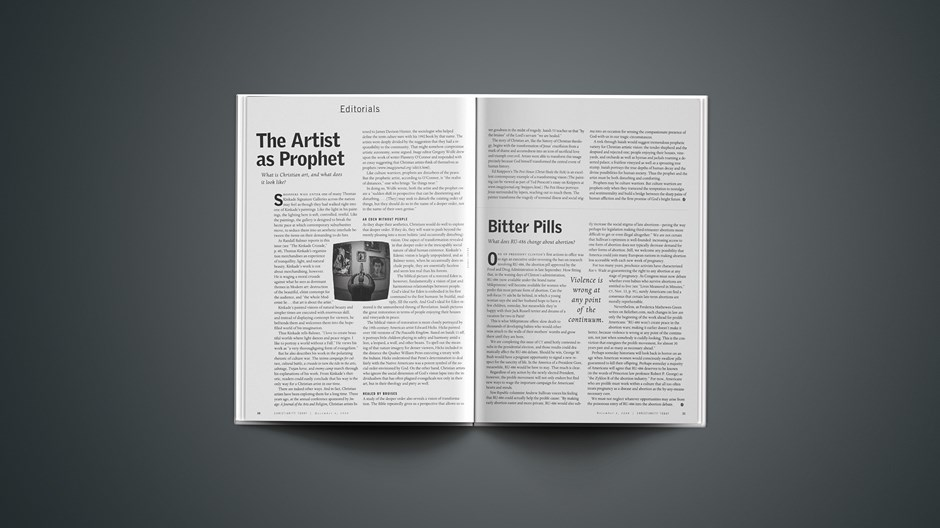 The Artist as Prophet