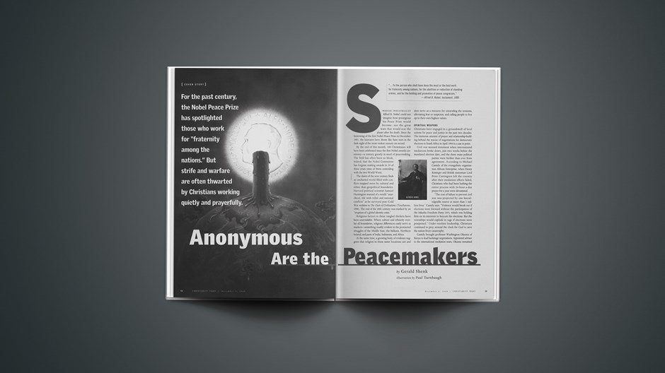 Anonymous Are the Peacemakers