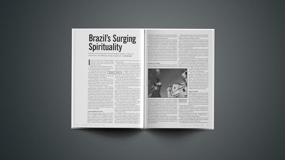 Brazil's Surging Spirituality