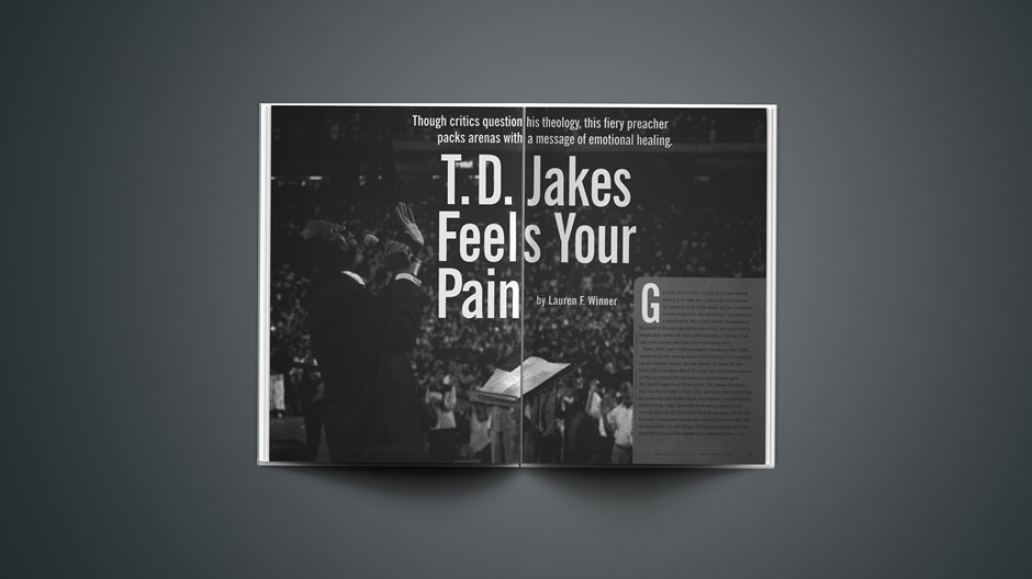 T.D. Jakes Feels Your Pain