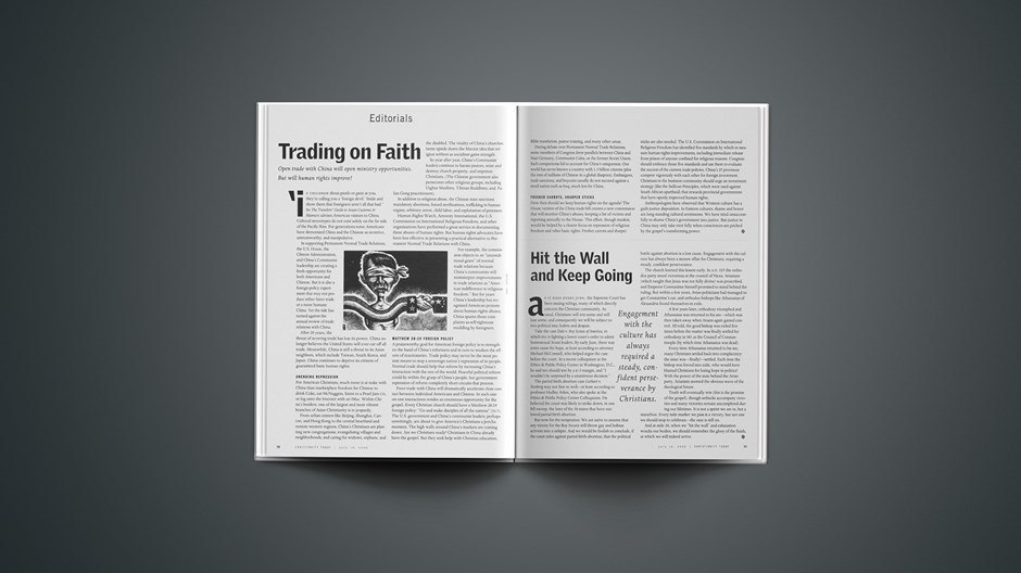 Trading on Faith in China