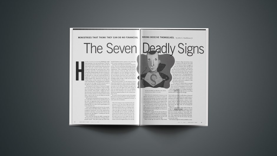 The Seven Deadly Signs