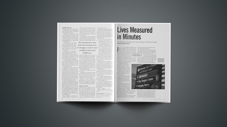 Lives Measured in Minutes