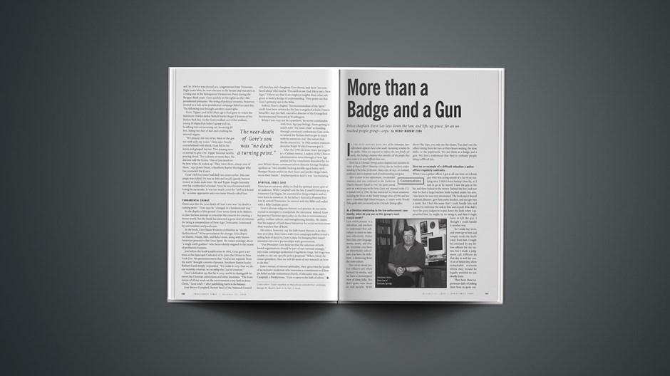 More Than a Badge and a Gun