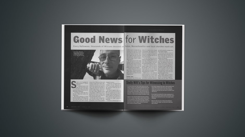 Shelly Wift's Tips for Witnessing to Witches