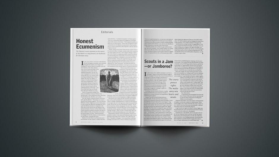 Honest Ecumenism