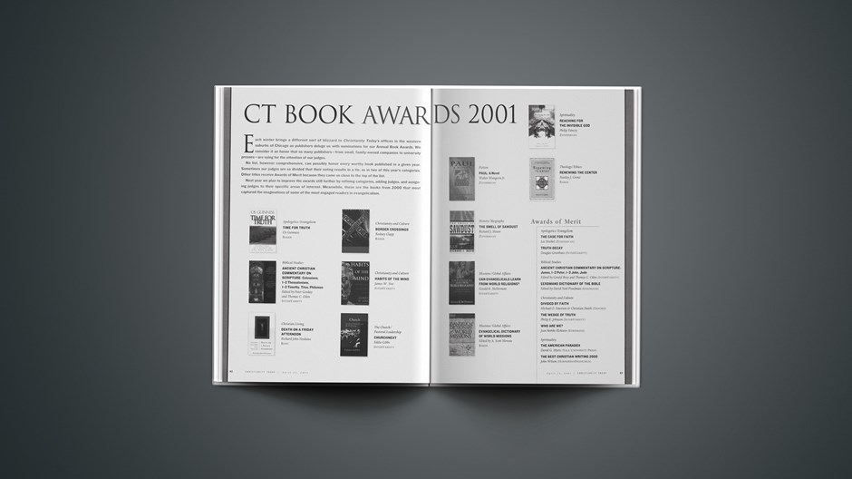 2001 Christianity Today Book Awards