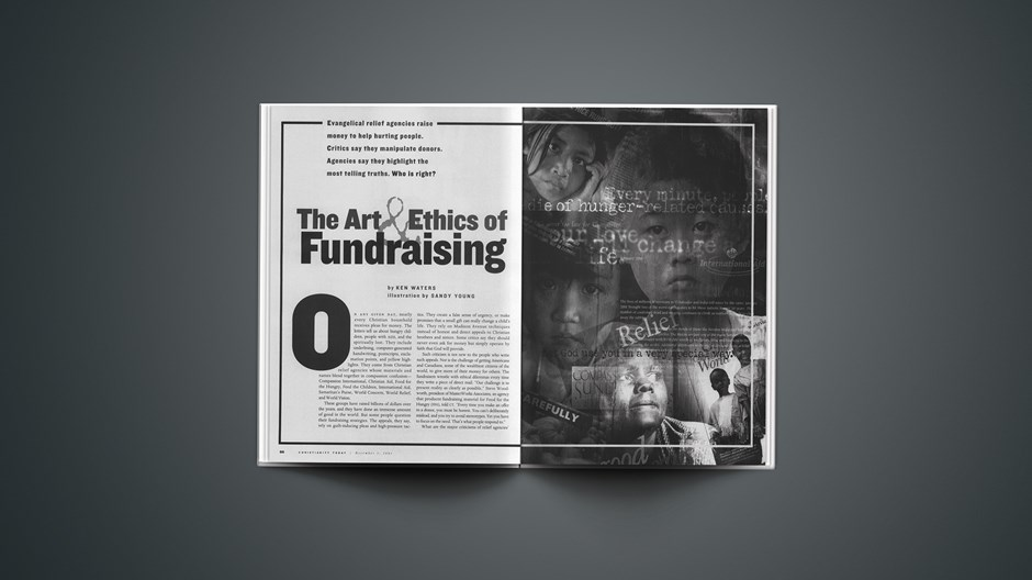 The Art & Ethics of Fundraising