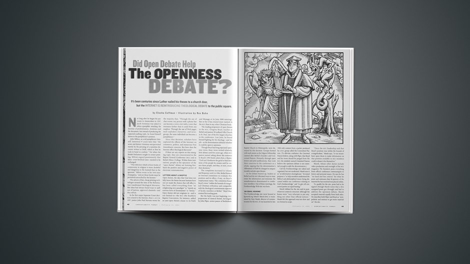 Open Debate in the Openness Debate