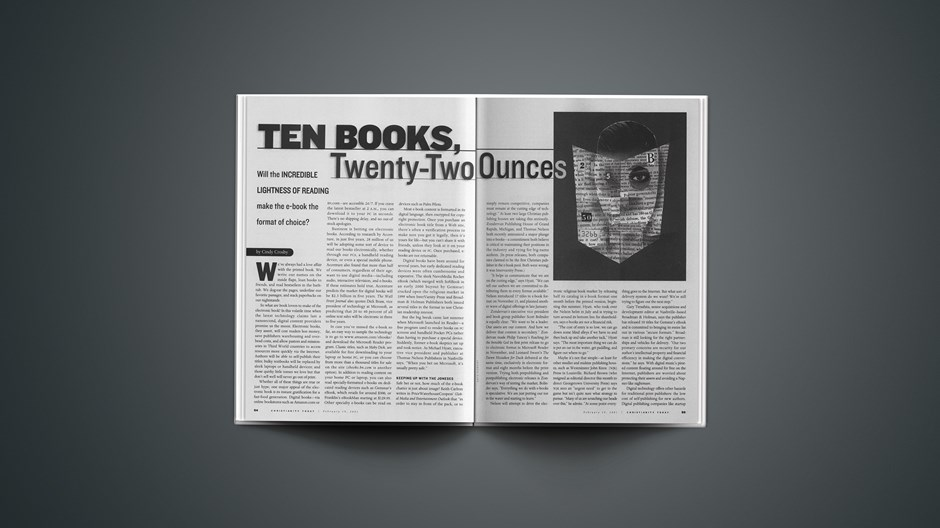 Ten Books, Twenty-Two Ounces