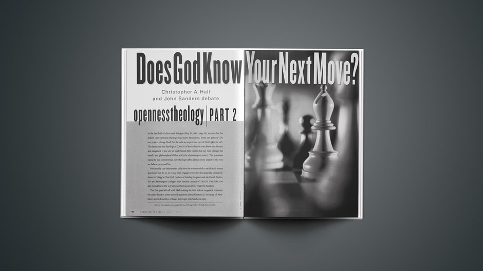 Does God Know Your Next Move?
