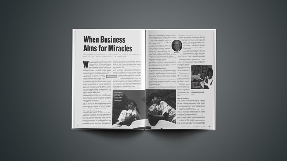 When Business Aims for Miracles