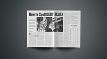 How to Spell Debt Relief