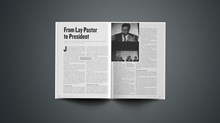 From Lay Pastor to President