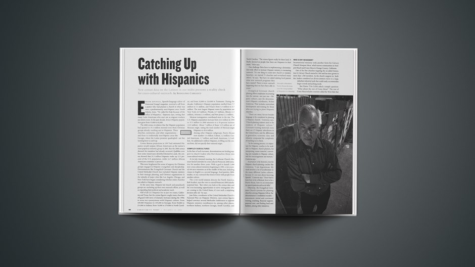 Catching Up with Hispanics