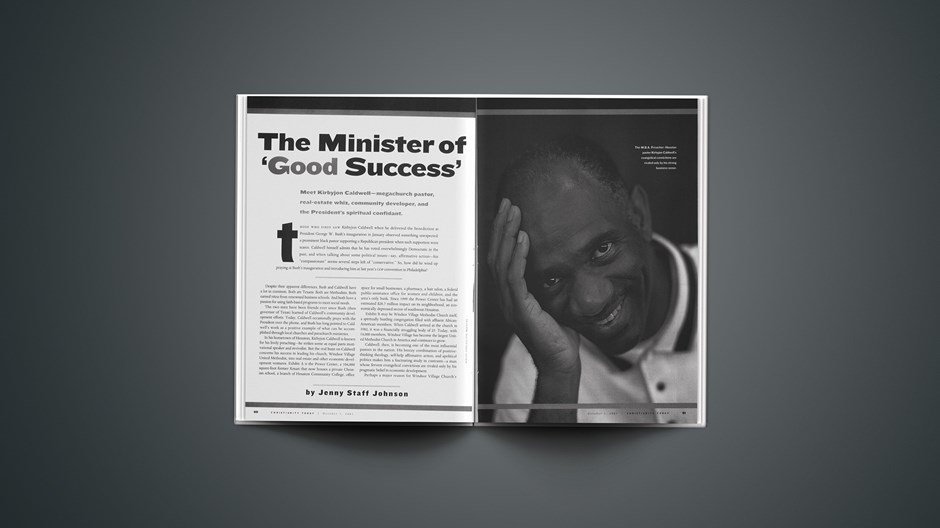The Minister of 'Good Success'