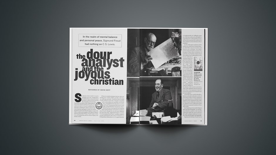 The Dour Analyst and the Joyous Christian