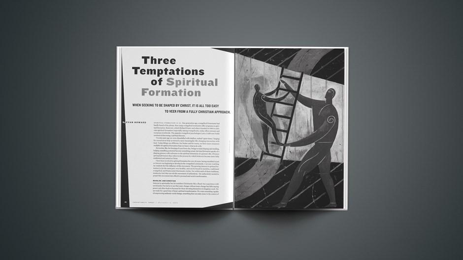 Three Temptations of Spiritual Formation