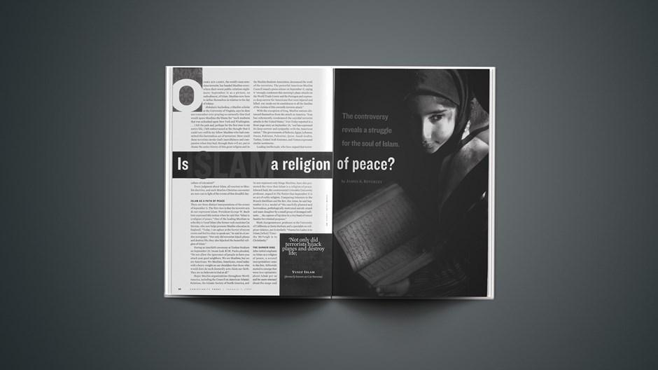 Islam a religion of peace?