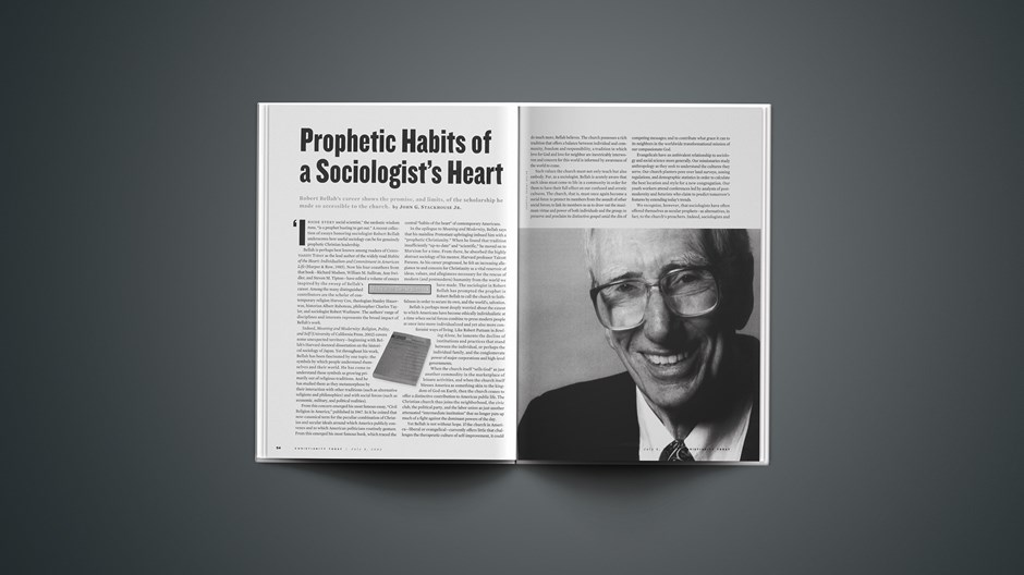 Prophetic Habits of a Sociologist's Heart