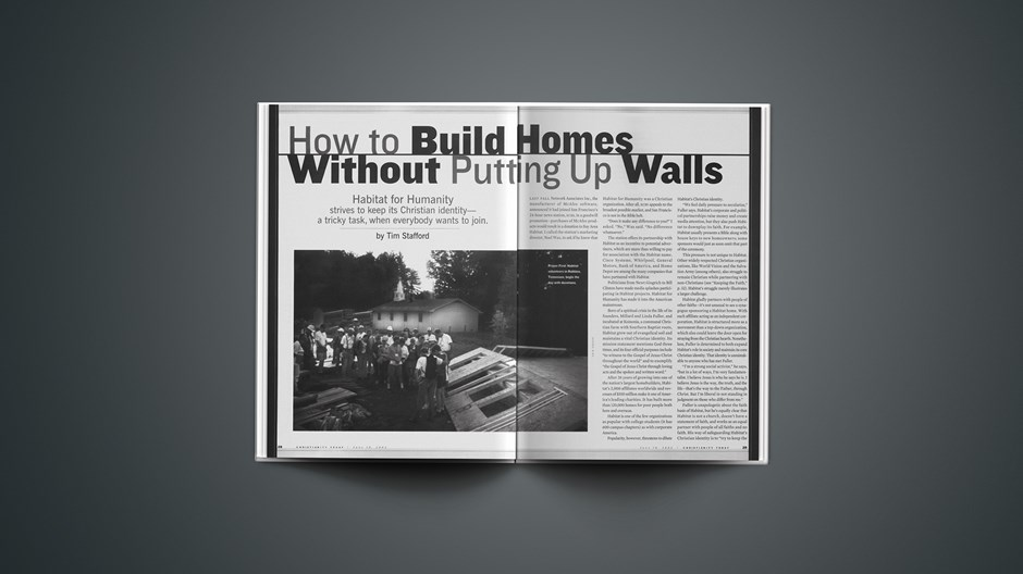 How to Build Homes Without Putting Up Walls