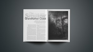 The Smiling Grandfather Clock