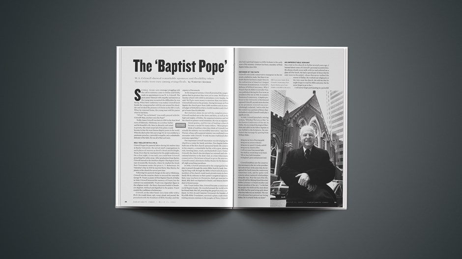 The 'Baptist Pope'