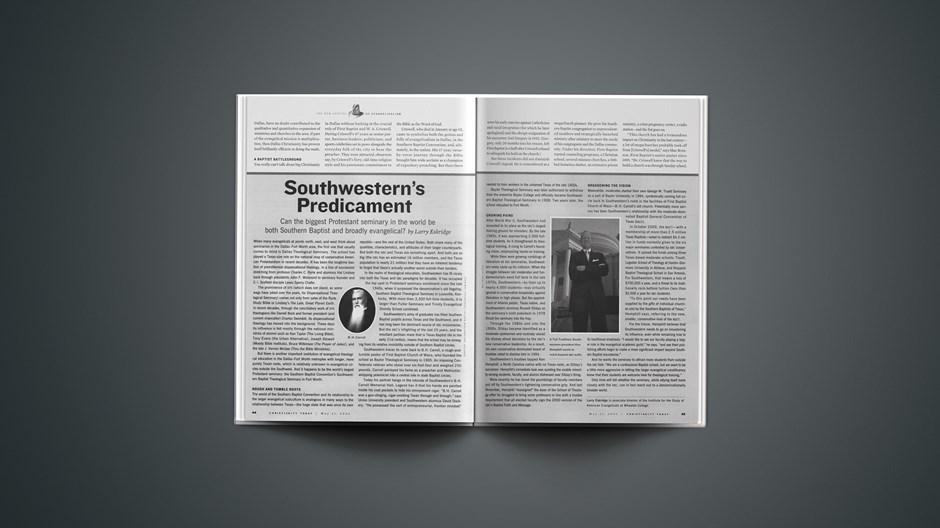 Southwestern's Predicament