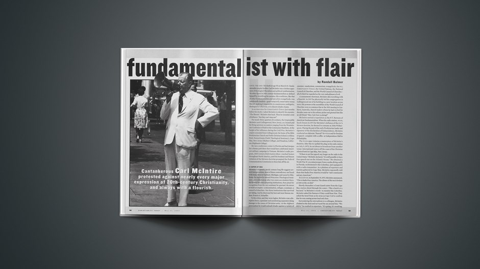 Fundamentalist With Flair