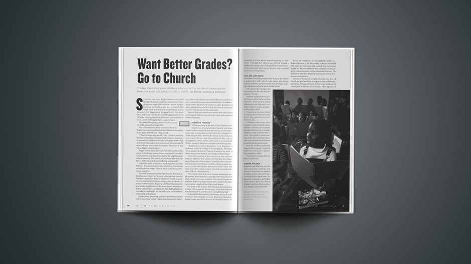 Want Better Grades? Go to Church