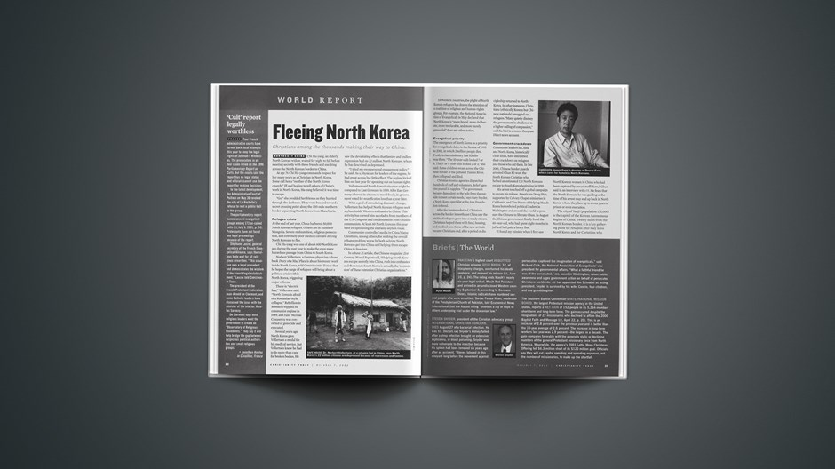 North Korea: Christians on the frontlines help refugees escape a nightmare.