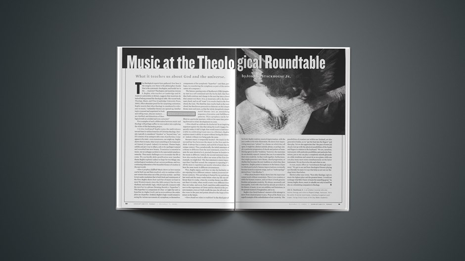Music at the Theological Roundtable