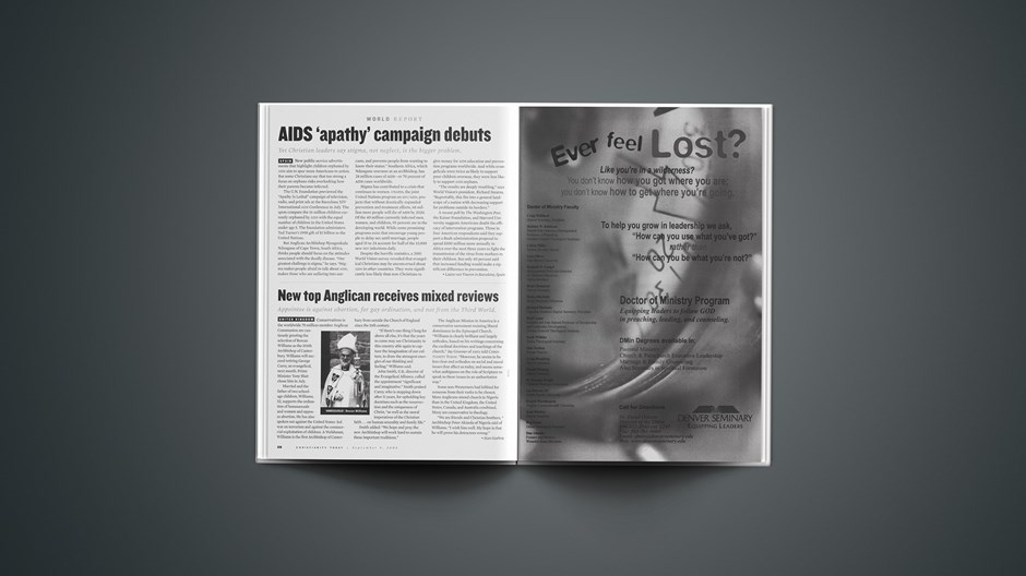 Spain: Christians fear AIDS media campaign may ignore how people get the disease.