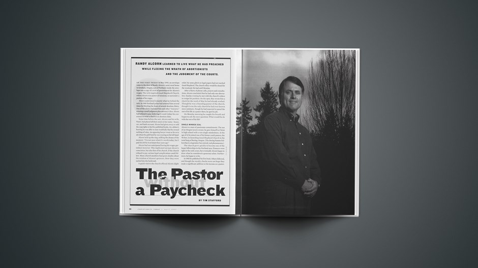 The Pastor without a Paycheck