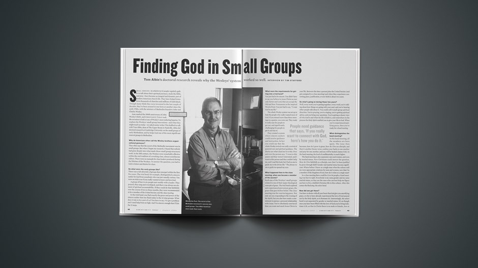 Finding God in Small Groups