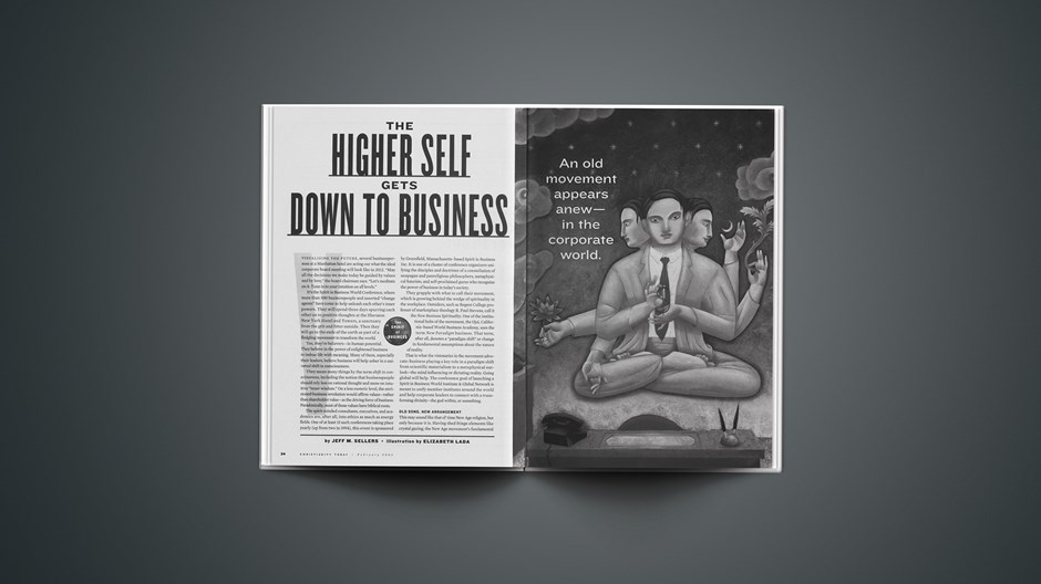 The Higher Self Gets Down To Business